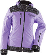 DIVAS Snow Gear LACE Insulated Snowmobile Jacket (Purple)