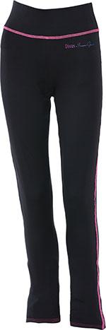 DIVAS Snow Gear Tech Subpolar Mid-Weight Layer Pants (Black)