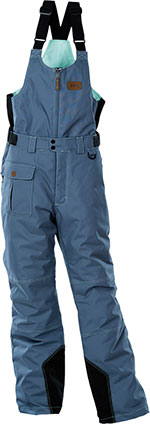 DIVAS Snow Gear ARCTIC APPEAL Snowmobile Bibs/Pants (Slate)