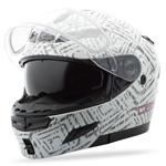 GMAX Divas Snow Gear DSG GM54S Modular Helmet (AZTEC White)