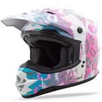 GMAX Divas Snow Gear DSG GM76S Snow Helmet (LEOPARD Multi)