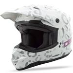 GMAX Divas Snow Gear DSG GM76S Snow Helmet (LEOPARD White)