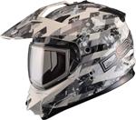 GMAX Divas Snow Gear DSG GM11S Snow Helmet (CHECKED OUT White/Grey)