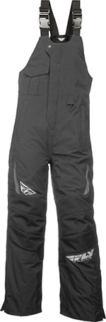 FLY Racing Snow Snowmobile - AURORA Bibs/Pants (Black)