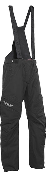 FLY Racing Snow Snowmobile - SNX PRO LITE Pants/Bibs (Black)