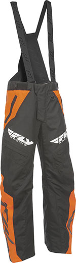 FLY Racing Snow Snowmobile - SNX PRO LITE Pants/Bibs (Orange)