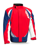 FLY RACING Snow Snowmobile 2017 AURORA Insulated Jacket (Red/White/Blue)