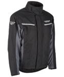 Fly Racing Snow Snowmobile Men's AURORA Jacket (Black/Grey)