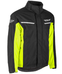 Fly Racing Snow Snowmobile Men's AURORA Jacket (Black/Hi-Vis)