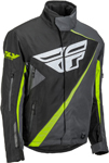Fly Racing Snowmobile SNX Pro Crossover Jacket (Black/Grey)