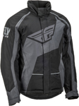 Fly Racing Snowmobile Outpost Jacket (Black/Grey)