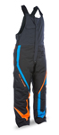FLY RACING Snow Snowmobile 2017 OUTPOST Insulated Bibs/Pants (Black/Orange/Blue)