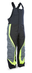 FLY RACING Snow Snowmobile 2017 OUTPOST Insulated Bibs/Pants (Black/Grey/Hi-Vis)