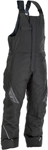 Fly Racing Snowmobile Outpost Bib Pants (Black/Grey)