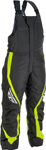Fly Racing Snowmobile Outpost Bib Pants (Black/Hi-Vis)