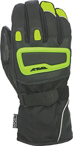 FLY Street - XPLORE Insulated Motorcycle Gloves (Hi-Vis Yellow/Black)