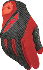 FLY Street - COOLPRO II Touchscreen Motorcycle Gloves (Red/Black)