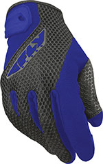 FLY Street - COOLPRO II Touchscreen Motorcycle Gloves (Blue/Black)