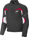 Fly Racing Butane Textile Riding Jacket (Black/White/Red)