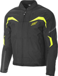 Fly Racing Butane Textile Riding Jacket (Black/Hi-Vis)