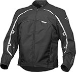 FLY Street - BUTANE 4 Textile Motorcycle Jacket (Black)