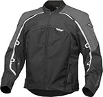 FLY Street - BUTANE 4 Textile Motorcycle Jacket (Gunmetal/Black)