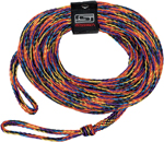 SLIPPERY Tow Rope for 1 & 2 Rider Inflatable Tubes (3/8in. Rope, 60 ft. long)