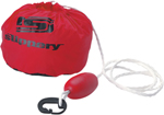 SLIPPERY Wetsuits - Personal Water Craft Anchor Bag (Red)
