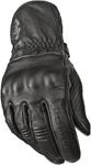 HIGHWAY 21 Men's HOOK Leather Riding Gloves (Black)