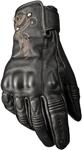 HIGHWAY 21 Ladies BLACK IVY Leather Riding Gloves (Black)
