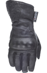 HIGHWAY 21 Ladies BLACK ROSE Cold Weather Touchscreen Riding Gloves (Black)