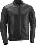 HIGHWAY 21 Men's GUNNER Leather Riding Jacket (Black)