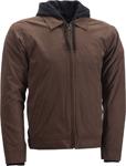 HIGHWAY 21 Men's GEARHEAD Textile Riding Jacket/Hoody (Brown)
