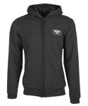 HIGHWAY 21 Men's INDUSTRY Riding Hoodie/Sweatshirt w/CE Protection (Black)