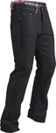 Highway 21 Men's DEFENDER Denim Motorcycle Riding Jeans/Pants w/Kevlar & Armor (Black)