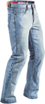 Highway 21 Men's DEFENDER Denim Motorcycle Riding Jeans/Pants w/Kevlar & Armor (Indigo Blue)