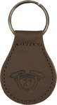 Highway 21 Key Chain (Brown)