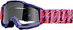 100% MX Motocross Kids ACCURI Jr Goggles (Sultan w/ Anti-Fog Clear Lens)