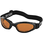 Bobster Crossfire Folding Goggles (Anti-fog Amber Lens)