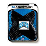 STOMP GRIP Traction Pad Tank Kit for TRIUMPH Daytona 675/675R 13-18; Street Triple 13-19 (Black)