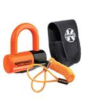 Kryptonite Evolution Series 4 Disc Lock U-Lock w/ Carry Pouch & Reminder Cable (Orange) 999591