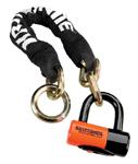 Kryptonite New York Noose 1275 Chain w/ Evolution Series 4 Disc Lock (2.5 feet / 75cm) 999539