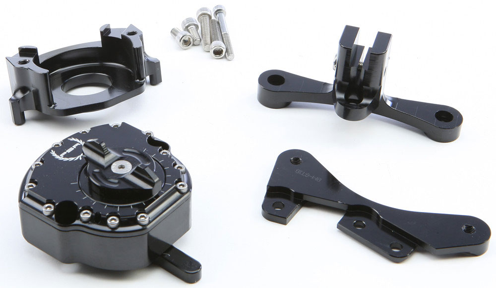 PSR Steering Damper Kit (Black) 09-00851-22