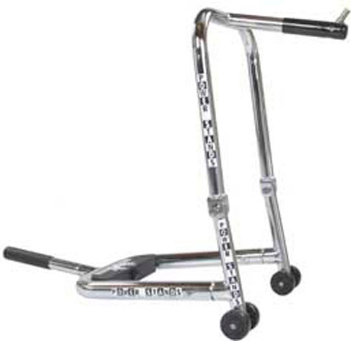 PSR Triple Tree Or Fork Lift Front Motorcycle Stand (Chrome) 00-00102-00