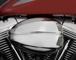Vance & Hines - 70003 - VO2 Air Intake with Drak Cover (Chrome)