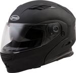GMAX MD-01 Modular Flip-Up Motorcycle Helmet w/Drop-Down Sun Visor (Matte Black)