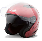 GMAX OF77 Open Face Helmet (Candy Red)