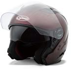GMAX OF77 Open Face Helmet (Wine Red)