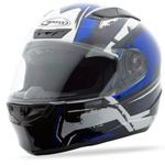 GMAX FF88 Full Face Street Helmet X-Star (White/Blue)