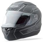 GMAX FF88 Full Face Street Helmet Derk (Flat Black/Silver)